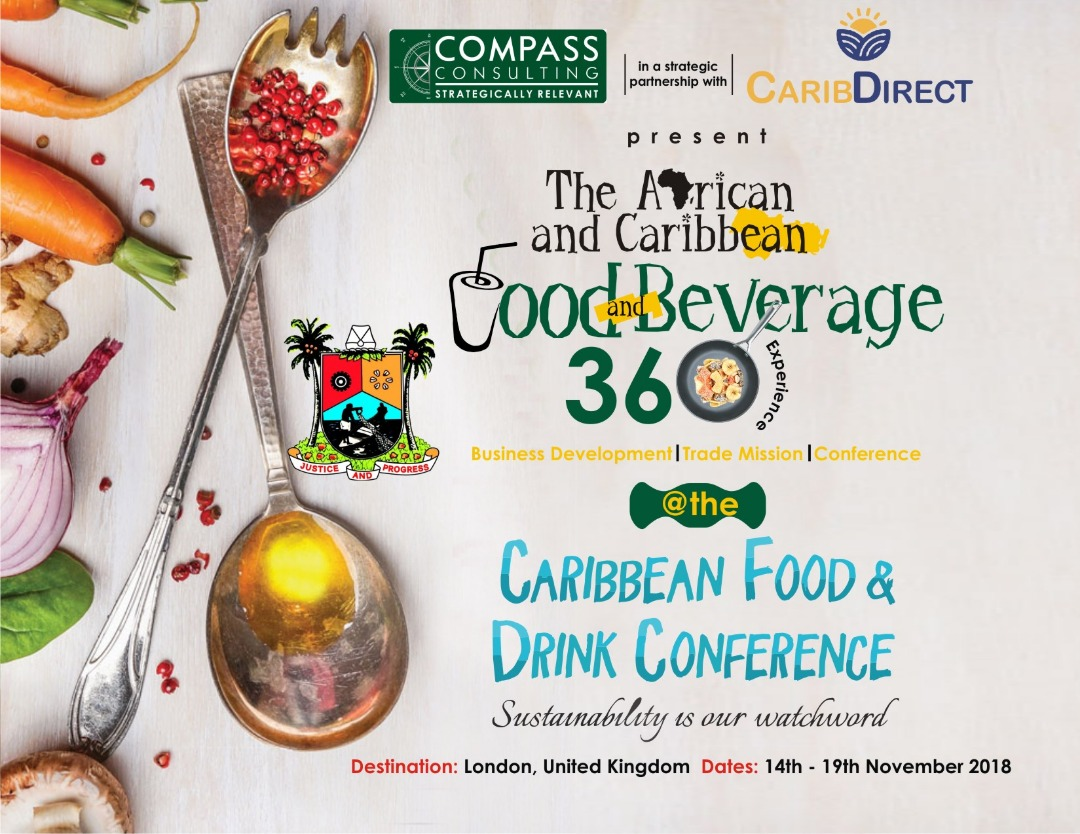The Africa and Caribean food beverage