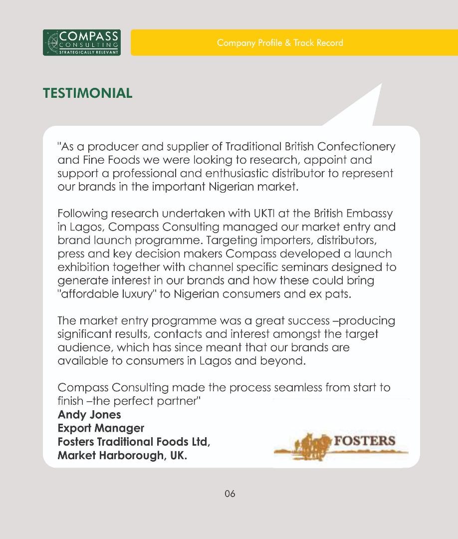 Compass Service - Overseas Market Intelligence